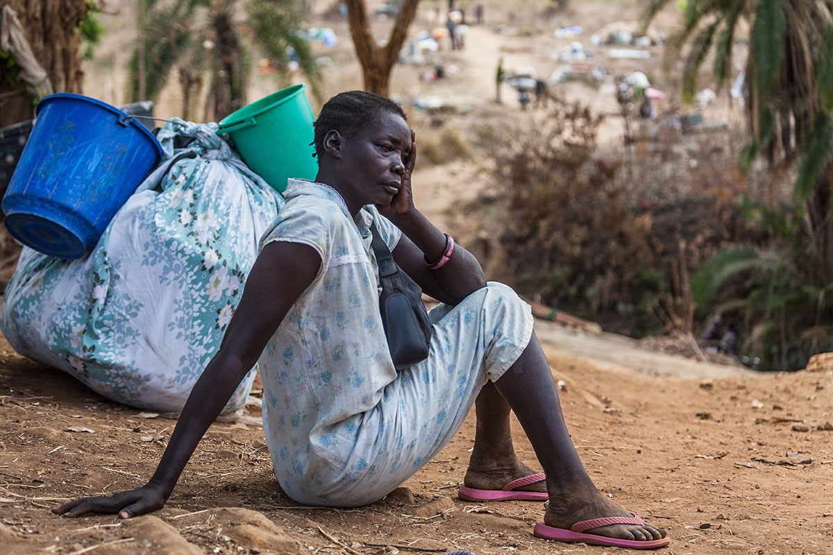 """""""The hopes and aspiration of the people of South Sudan are on NAS,"""" Gen Thomas Cirillo"""