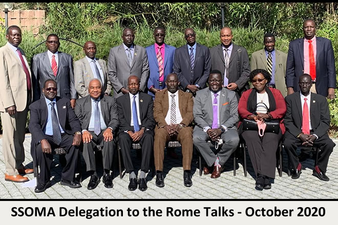 R-SPLM and SSUF not part of SSOMA delegation in Rome talks