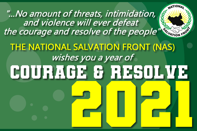 """NAS 2021 Message: """"…be courageous and resolute to restore our dignity"""""""