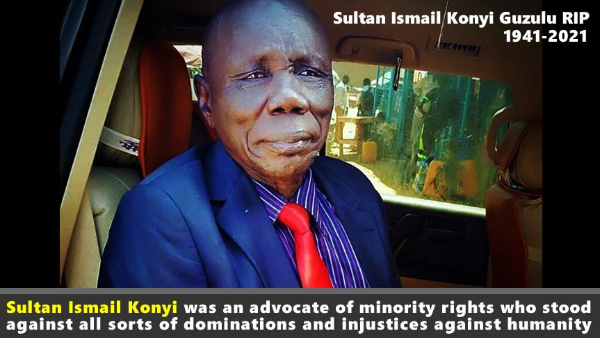 "In life Sultan Konyi ""stood against all forms of domination against humanity"" – NAS Condolence Message"