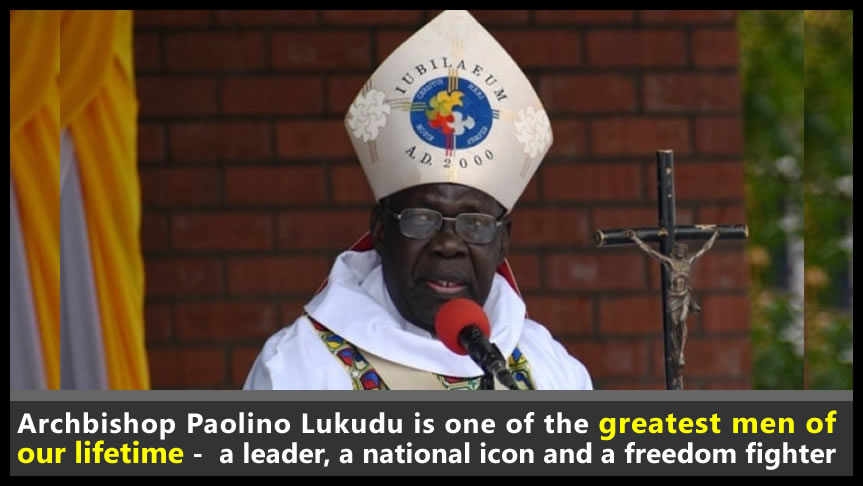 NAS Chairman condoles death of Archbishop Paolino Lukudu, urges South Sudanese to honour and emulate the life of one of the greatest men of our lifetime