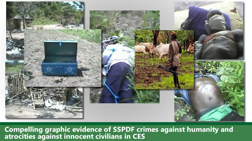 In pictures: compelling graphic evidence of SSPDF crimes against humanity on innocent civilians in CES