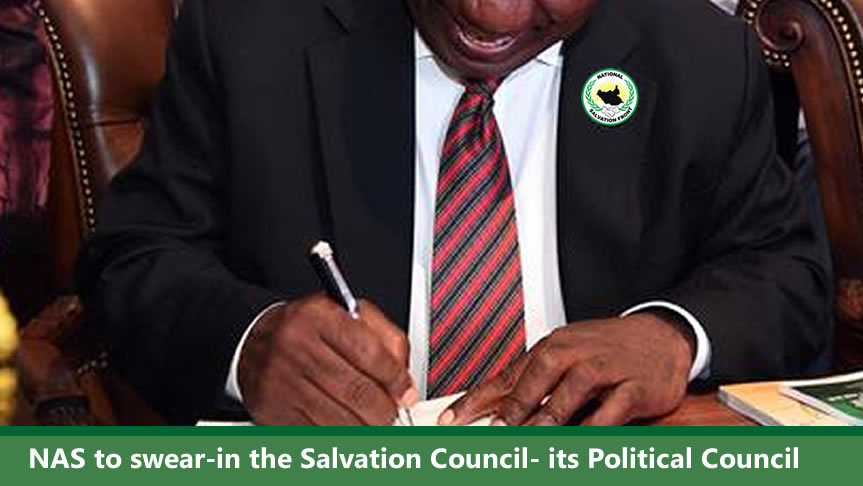 NAS set to inaugurate NAS Salvation Council and swear-in members this weekend